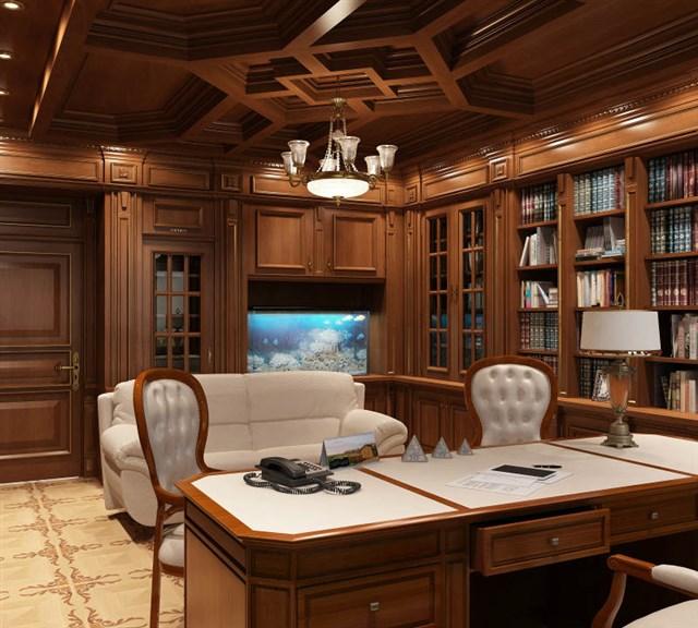 Классический стиль кабинета