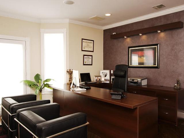 Рабочий кабинет в стиле Модерн