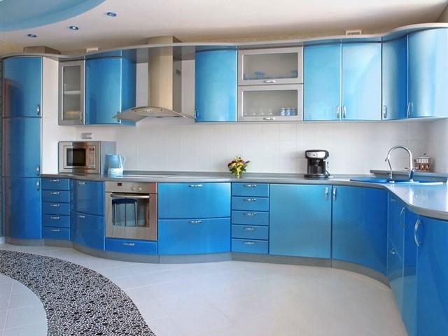 Голубая кухня