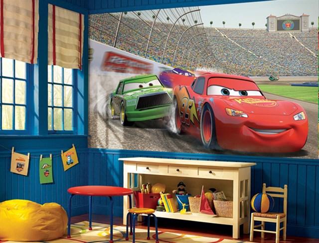 Фотообои в детской комнате для мальчика
