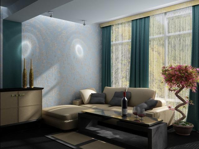 Минимализм будет уместен в комнате любого размера