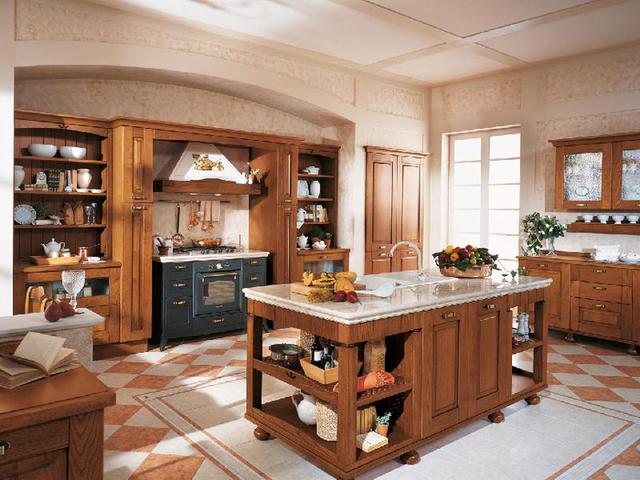 Мебель для итальянского стиля кухни