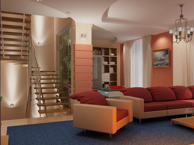 фото дизайн проходной гостинной