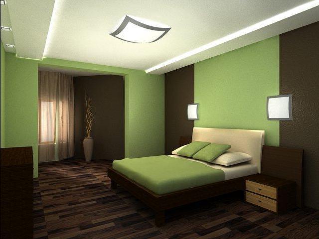 интерьер спальни с лоджией в едином стиле