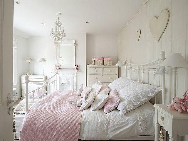 Дизайн спальни в стиле шебби шик