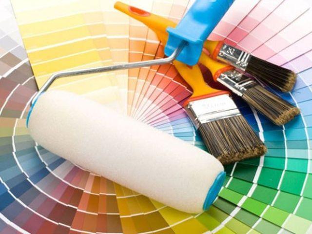 Цветовая гамма красок для стен