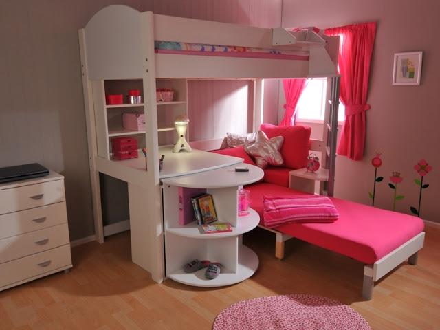 девичьи комнаты в разных стилях
