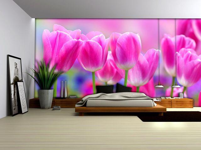 Дизайн комнаты с фотообоями