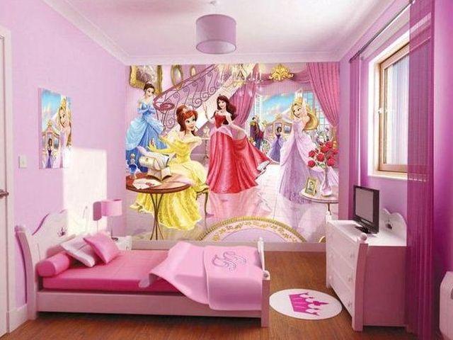 Декор детской для девочки