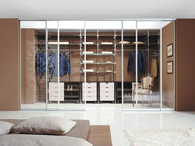 Встроенные гардеробы