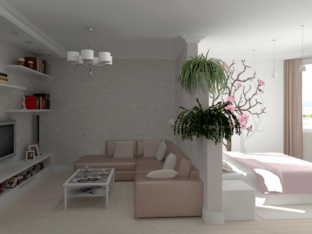 Дизайн узкой спальни 10 кв м