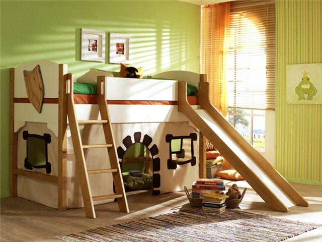 Уютная детская мебель