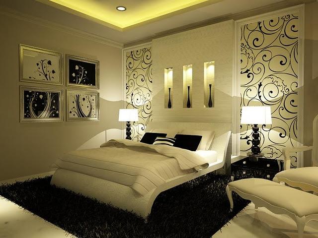 Дизайн спальни без окна