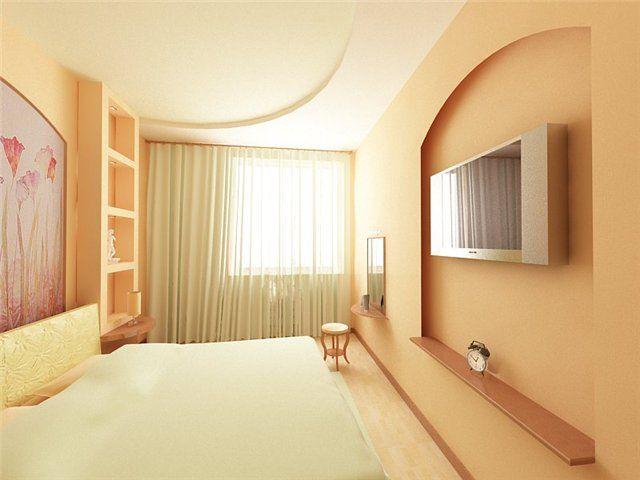 спальня в пастельных