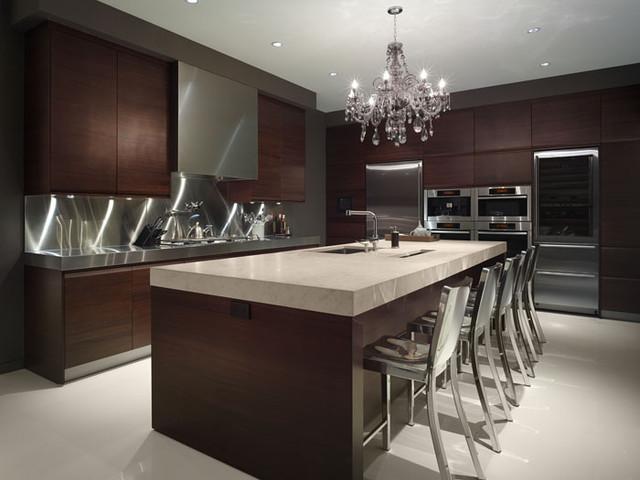 Красивая кухня в стиле минимализм