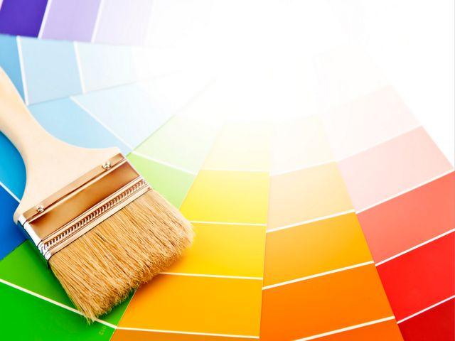 Подбор цвета в интерьере