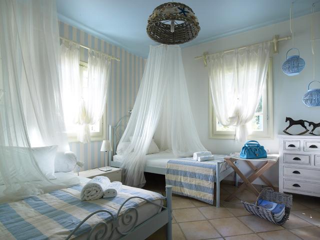 спальня в греческом стиле