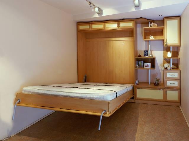 стенка с встроенной кроватью