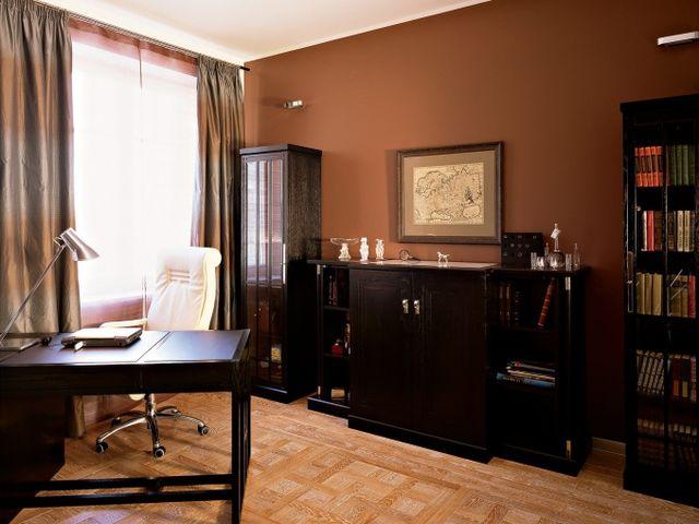 кабинет в коричневом