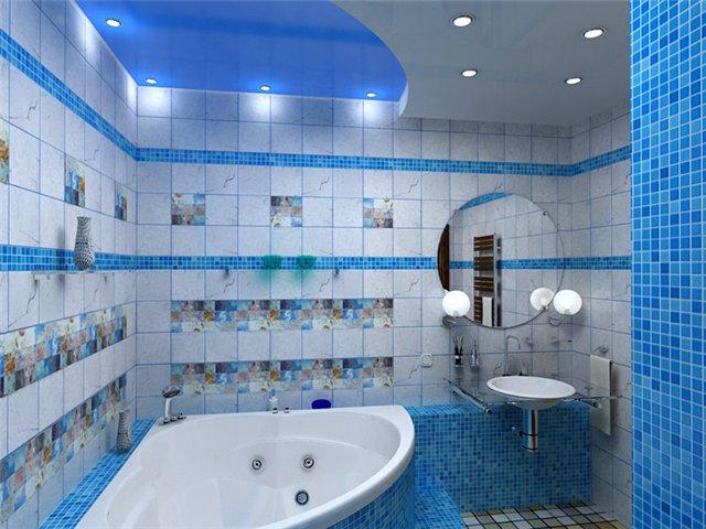 освещение по всей ванной