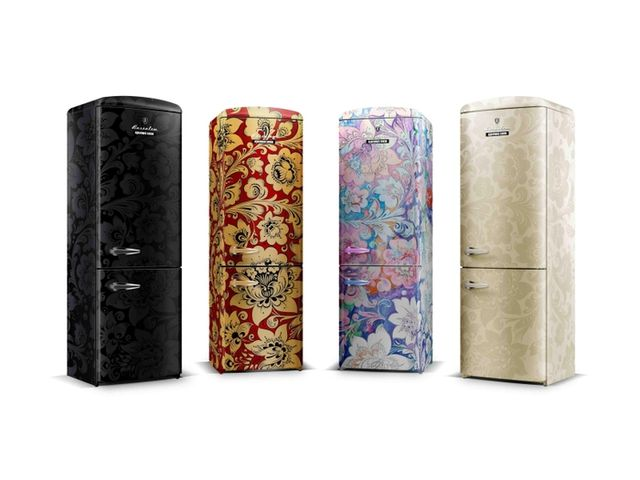Цветные холодильники винтаж