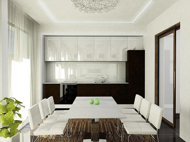 встроенные шкафы – идеальное решение для комнаты в стиле контемпорари