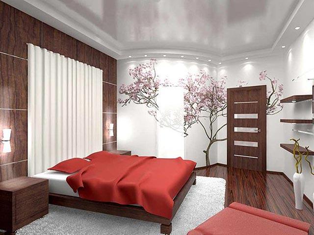 Фото дизайн спальни в доме