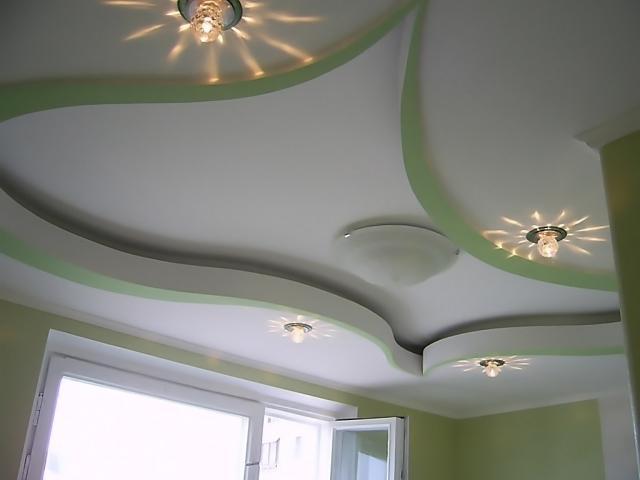 Потолок с уровнями