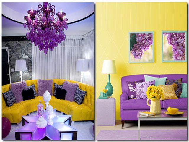 Сочетание обоев двух цветов: фото и правила с примерами и