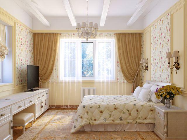 Молочная спальня фото