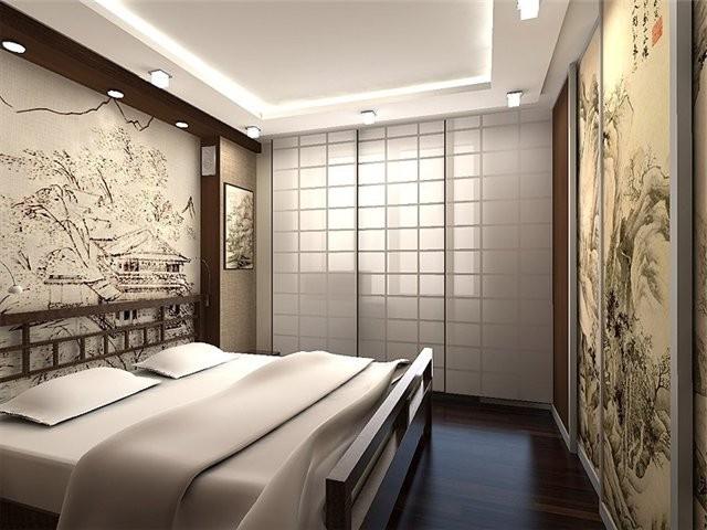 стильная металлическая кровать для спальни