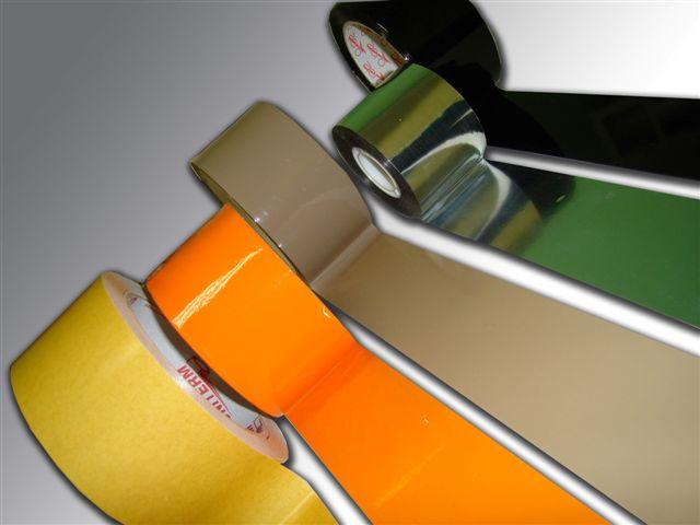разноцветная клейкая лента