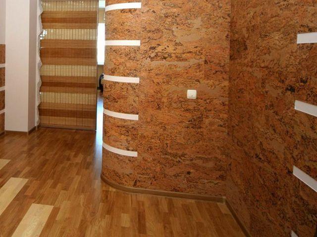 Пробковое покрытие для стен отделка стен пробкой.
