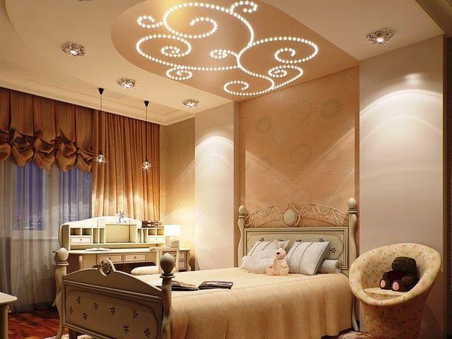 детская спальня в светло-коричневых оттенках