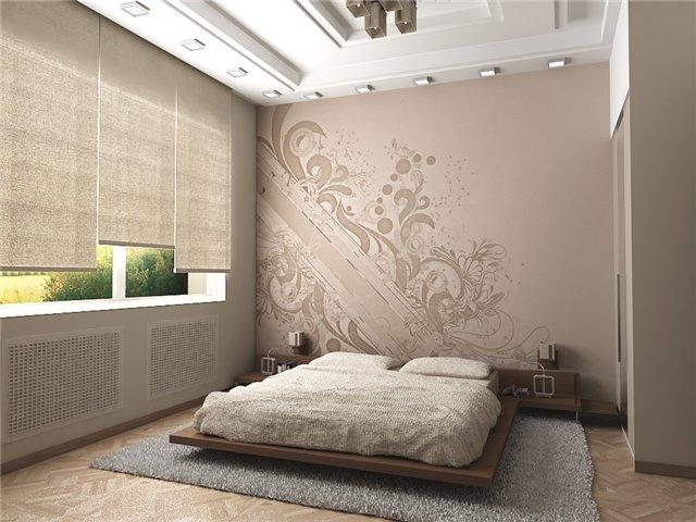 миниатюрная спальня в стиле модерн
