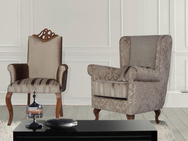 Кресло бержер во французском стиле