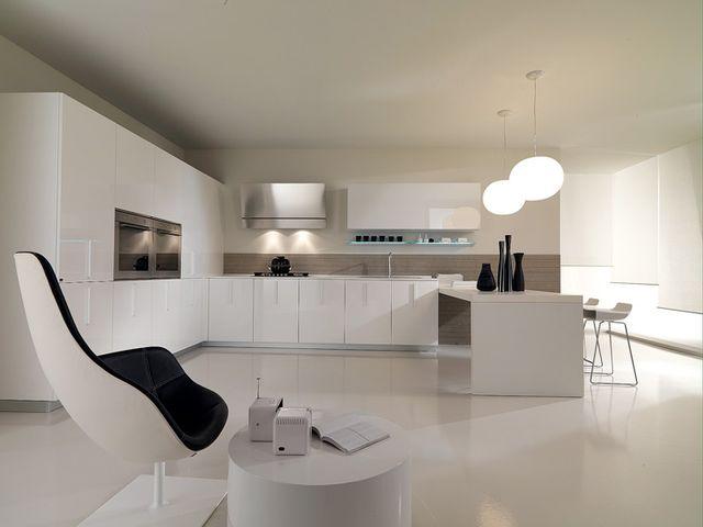 Минималистическая кухня в современном стиле