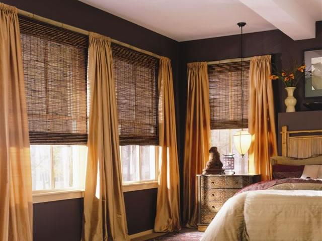 бамбуковые жалюзи – удачное решение