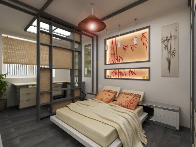 Дизайн спальни 12 кв м — 5 планировок