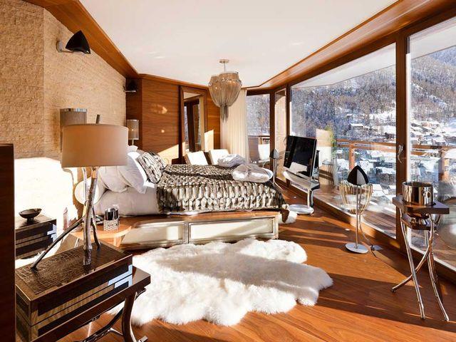 Альпийский стиль в интерьере