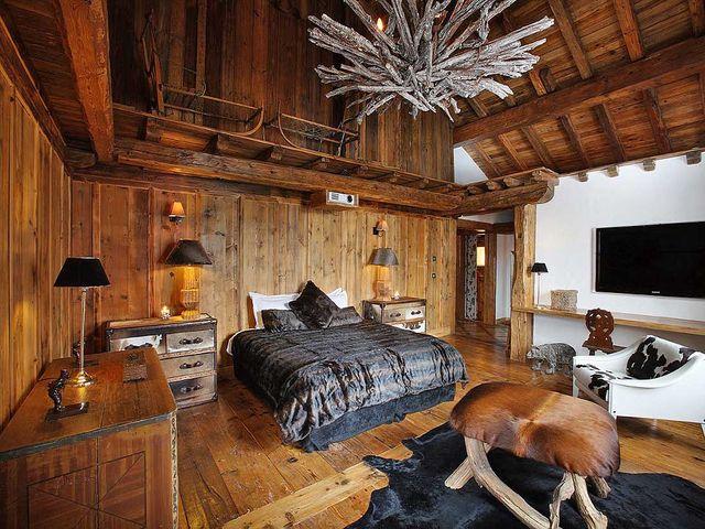 деревянный пол с эффектом старины