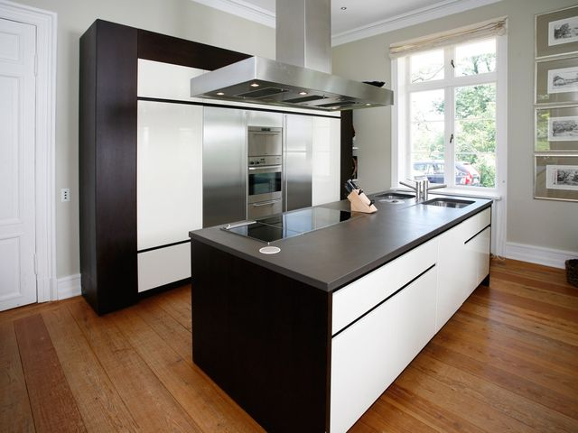 черно-белая немецкая кухня