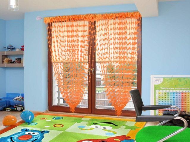 Дизайн штор веревочные шторы
