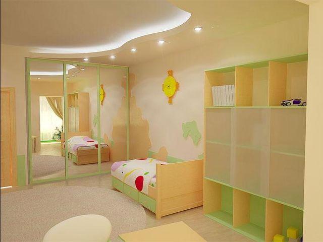 Интерьер детской в стиле минимализм