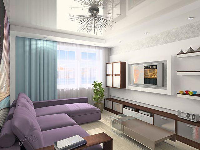 подвесная мебель в комнате