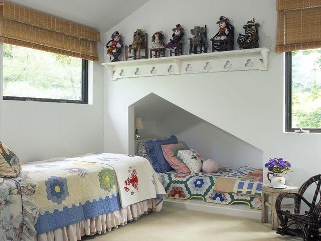 детская комната в нише