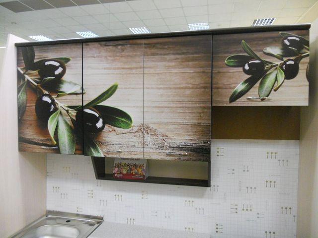 изображение ветвей оливы на кухне