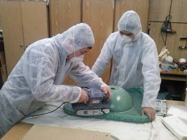 процесс изготовления литьевого мрамора