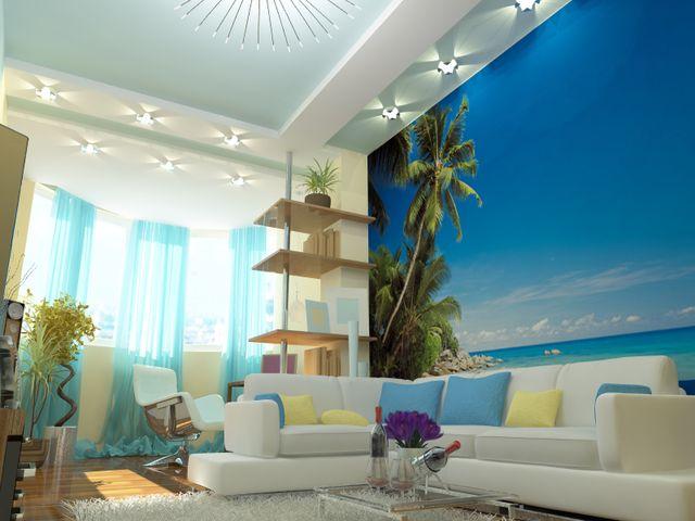 очарование морского стиля в интерьере жилой квартиры