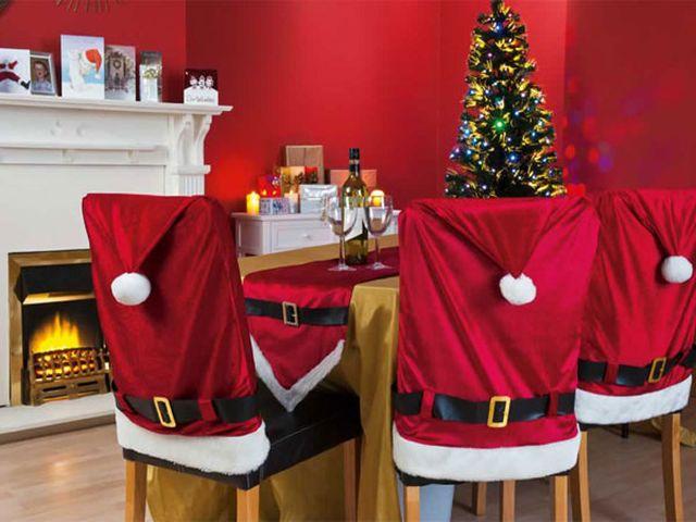 Новогодние на стулья своими руками
